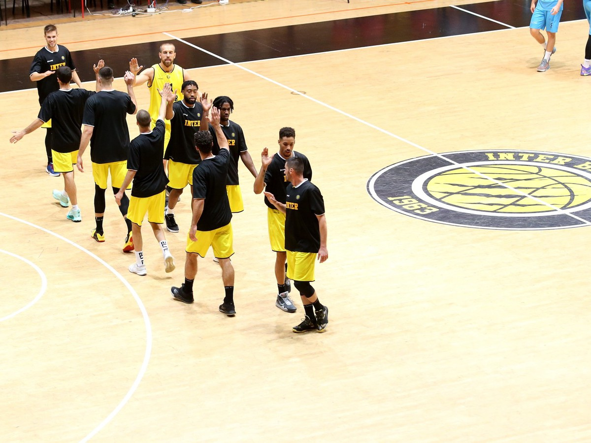 Basketbalisti BK Inter Bratislava