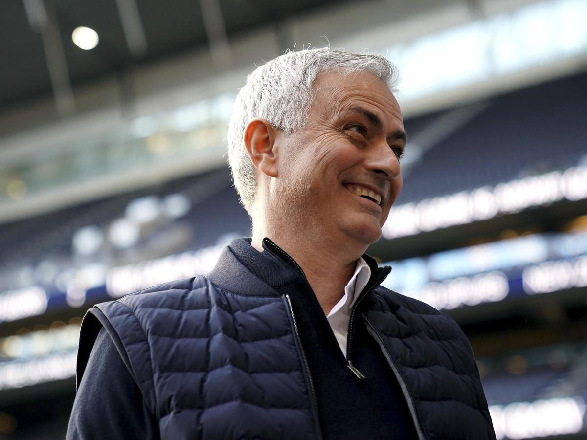 José Mourinho prežíva radostné