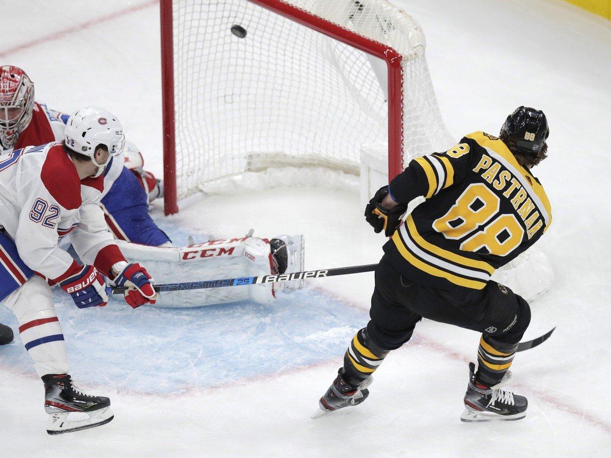 David Pastrňák hrdinom Bruins