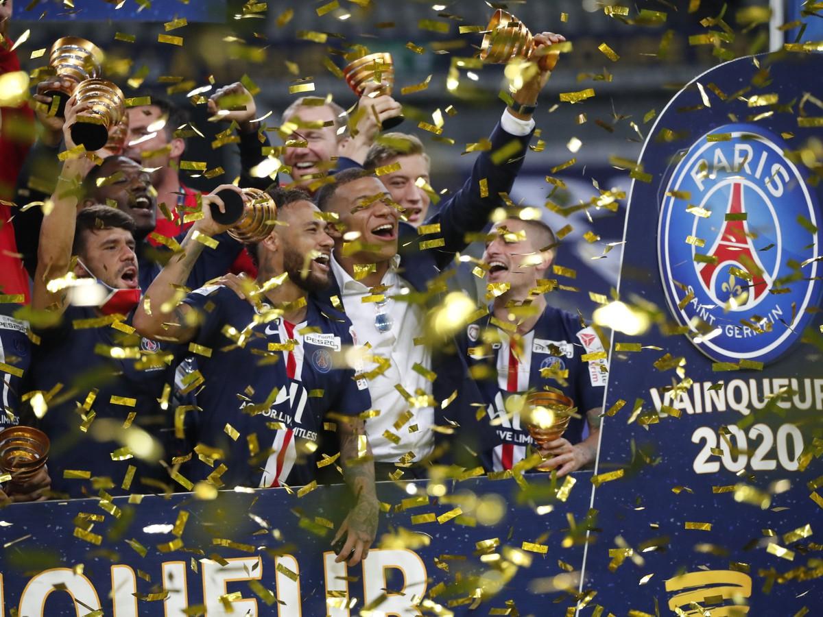Futbalisti Paríža St. Germain