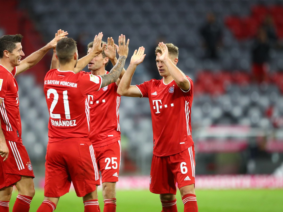 Radosť futbalistov Bayernu
