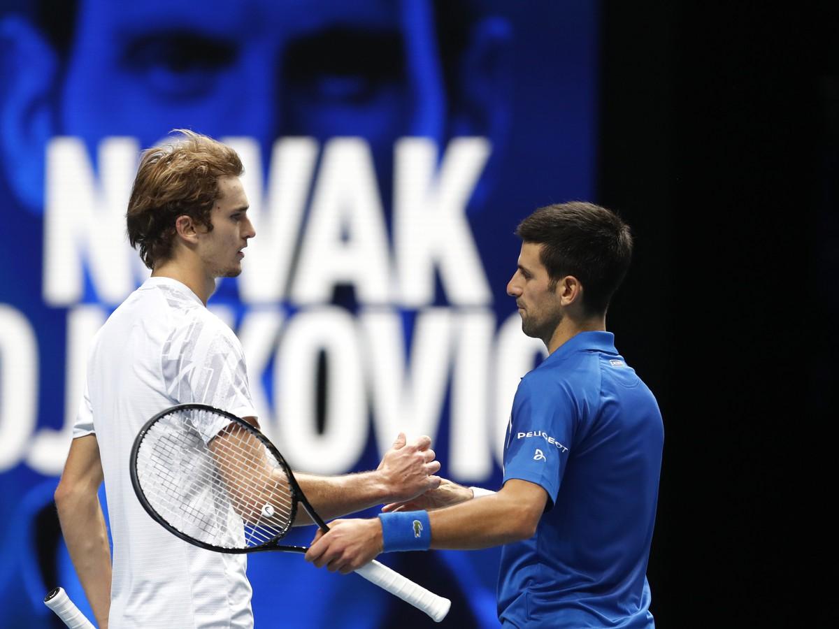 Novak Djokovič a Alexander