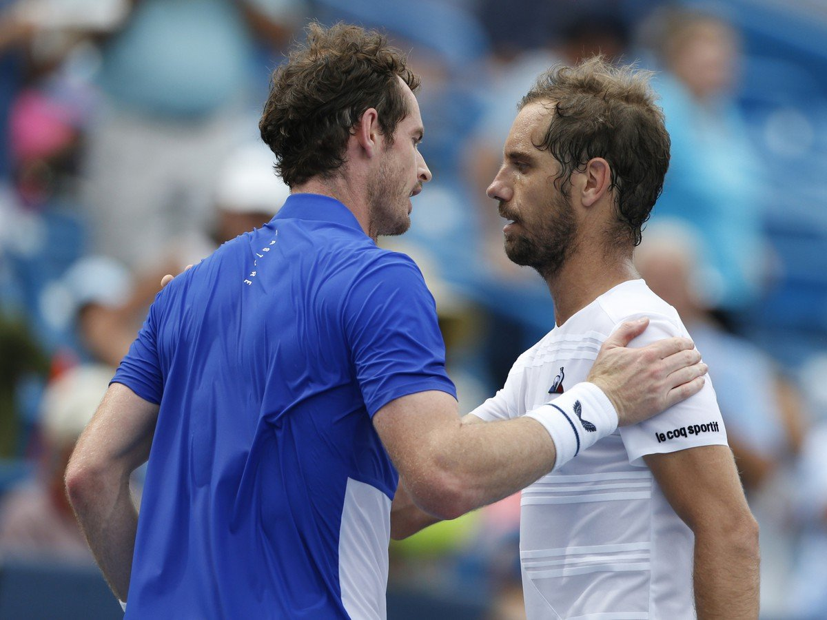 Andy Murray a Richard