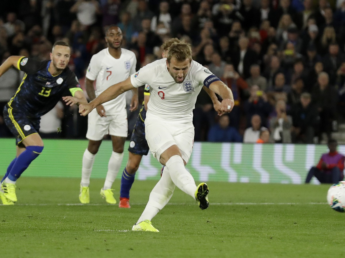 Harry Kane zahadzuje penaltu