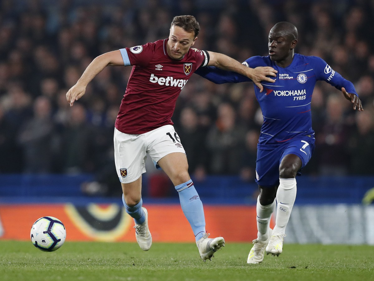 Mark Noble a N'Golo Kanté