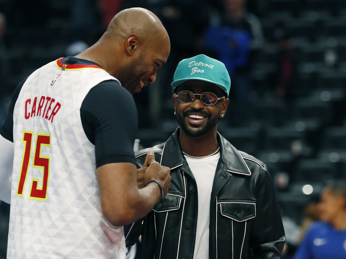 Vince Carter a rapper Big Sean