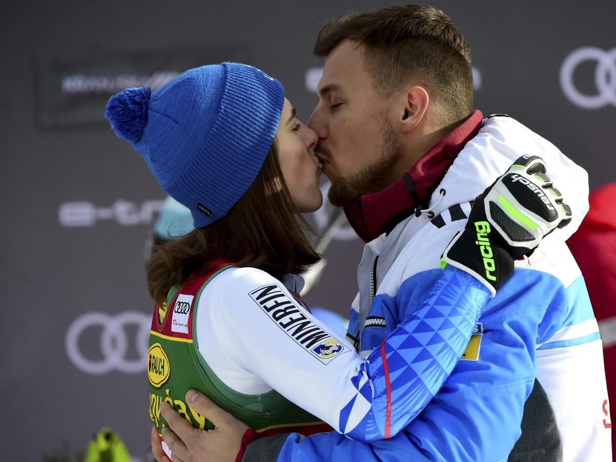 Petra Vlhová a Michal Kyselica