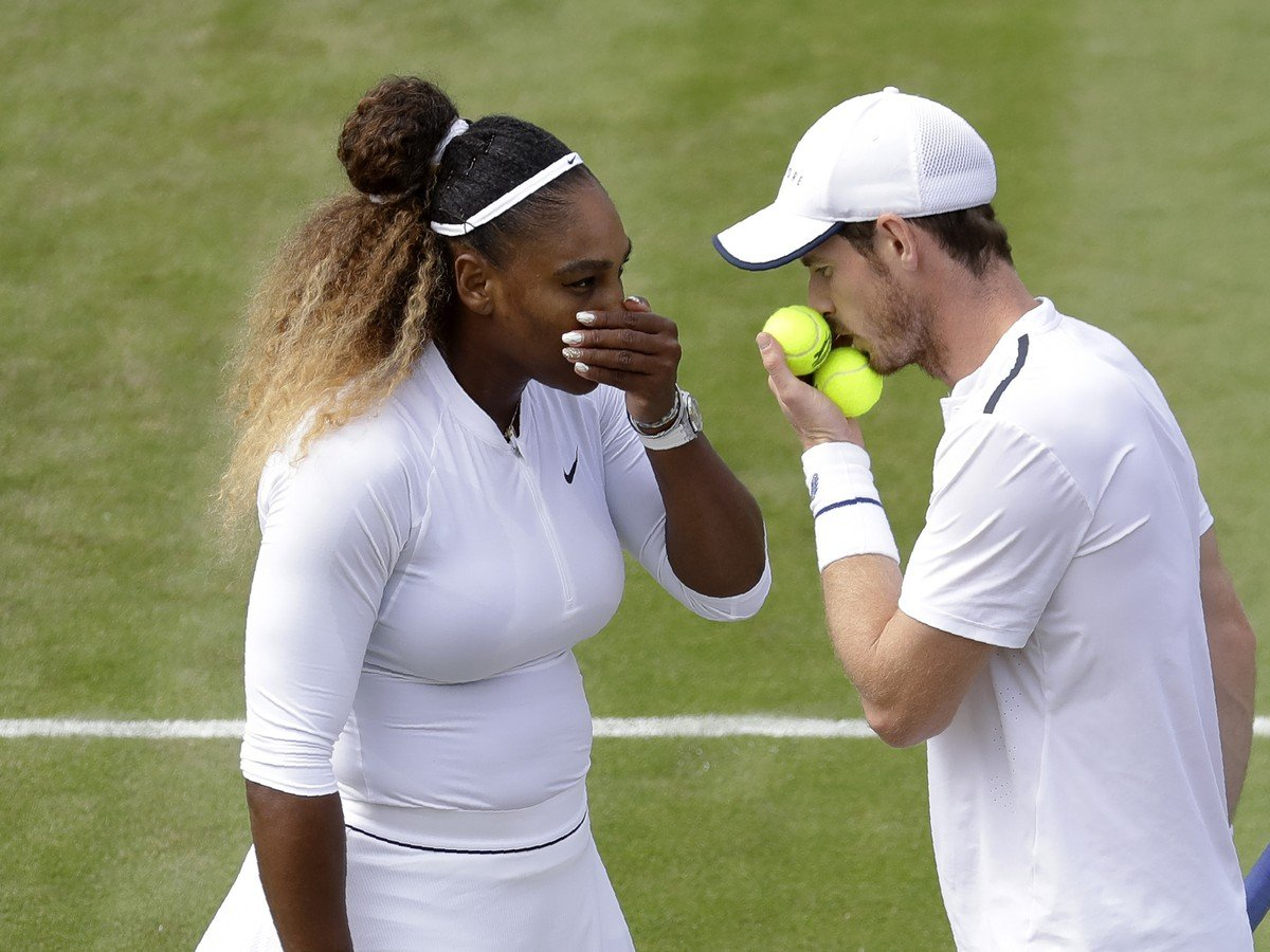Andy Murray a Serena