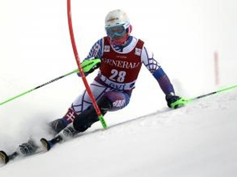 Slovenský lyžiar Adam Žampa v úvodnom slalome Svetového pohára vo fínskom Levi