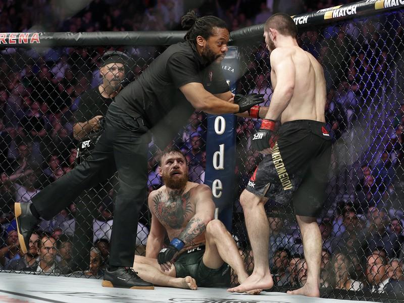 Khabib Nurmagomedov a Conor McGregor