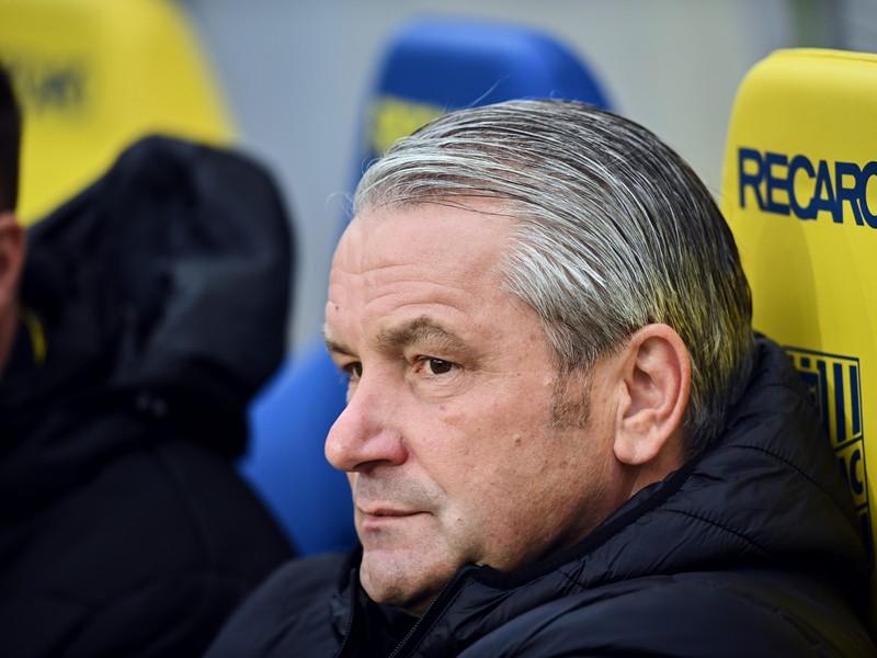 Tréner Dunajskej Stredy Bernd Storck