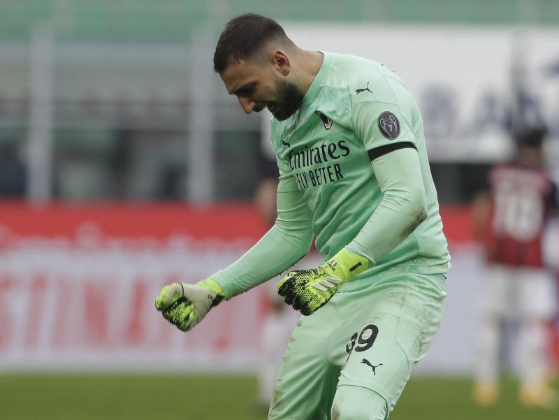 Brankár AC Miláno Gianluigi Donnarumma