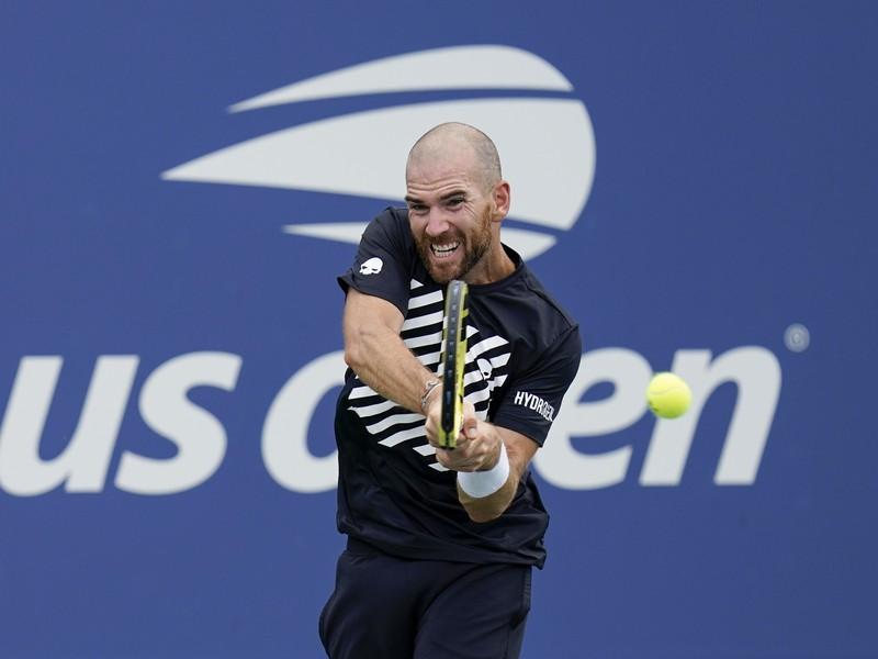 Francúzsky tenista Adrian Mannarino