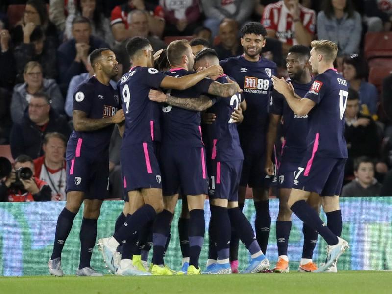 Radosť hráčov Bournemouthu