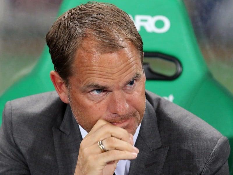 Tréner Ajaxu Frank de Boer poslal na ihrisko historicky najmladšiu zostavu Ligy majstrov