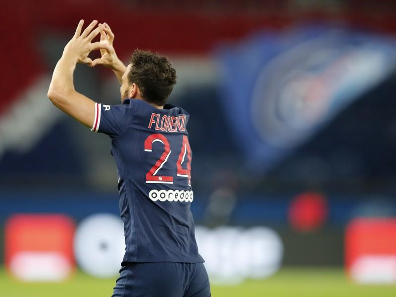 Alessandro Florenzi sa teší po strelení gólu