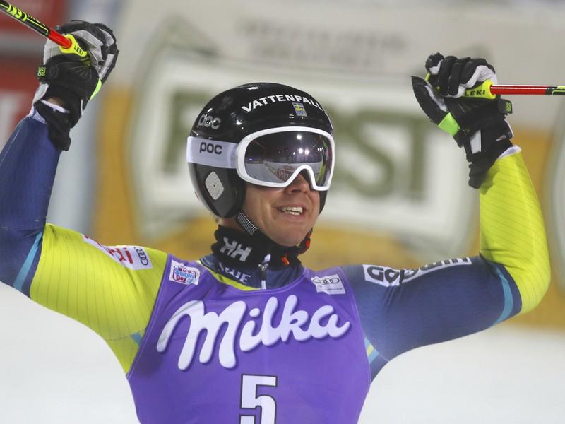 Matts Olsson a jeho víťazné oslavy
