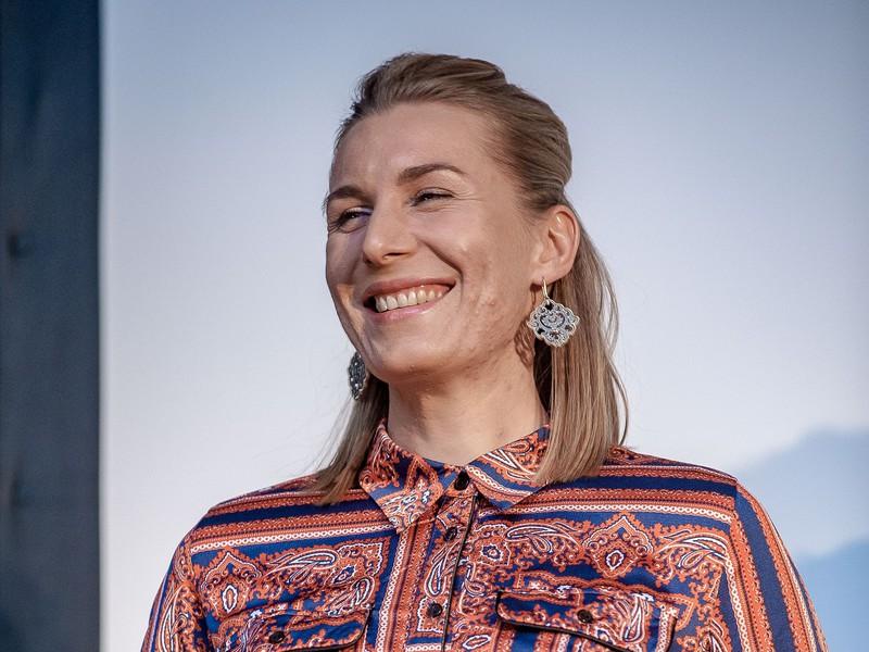 Na snímke reprezentantka SR v biatlone Anastasia Kuzminová