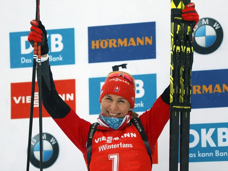 Slovenka Anastasia Kuzminová