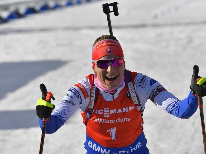 Bývalá slovenská biatlonistka Anastasia Kuzminová