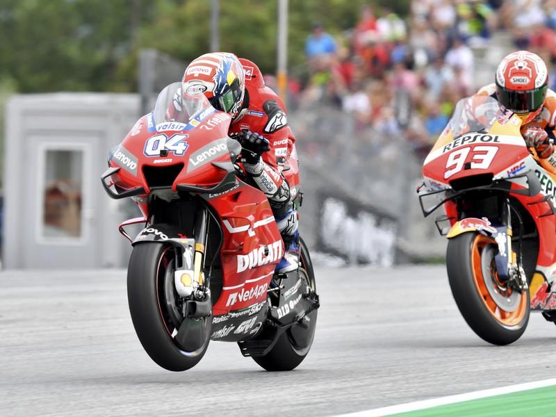 Andrea Dovizioso ovládol preteky v Rakúsku