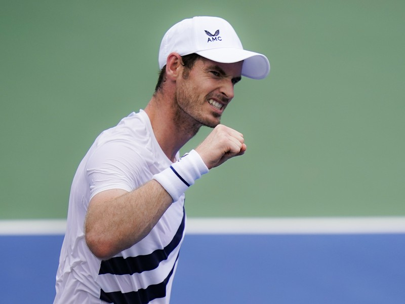 Andy Murray sa raduje z víťazstva