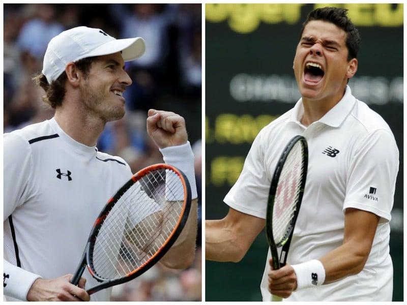 Andy Murray sa stretne vo finále Wimbledonu s Milosom Raonicom