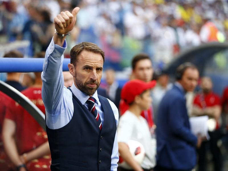 Tréner futbalistov Anglicka Gareth Southgate