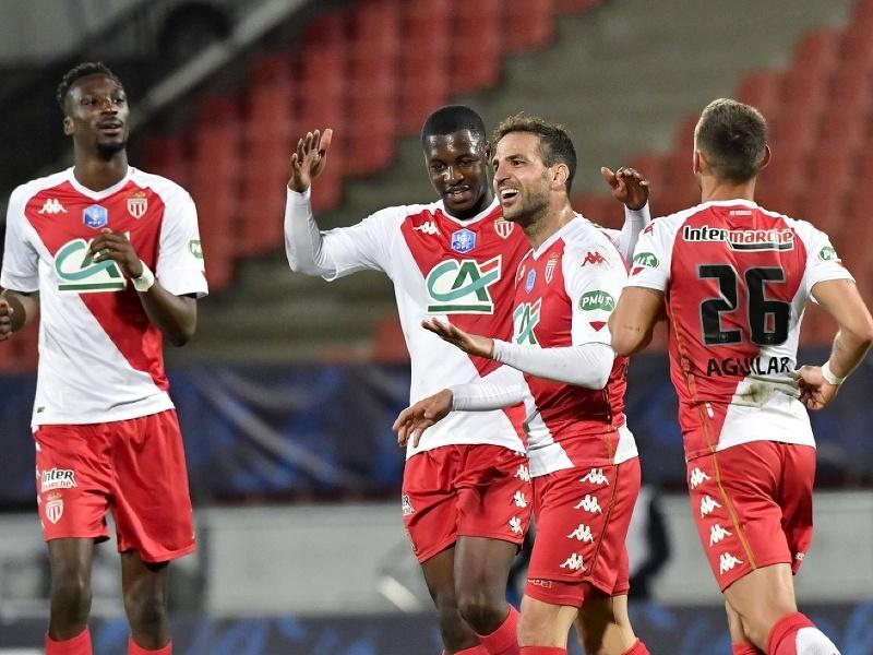 Radosť hráčov AS Monaco
