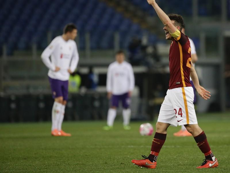 Alessandro Florenzi sa raduje z gólu