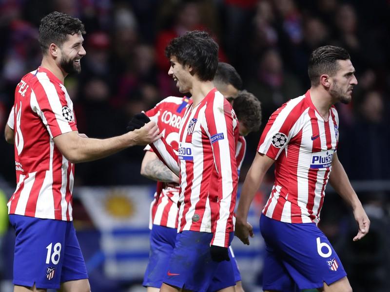 Radosť hráčov Atlética Madrid
