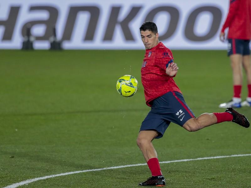 Uruguajský útočník Luis Suárez v službách Atlética