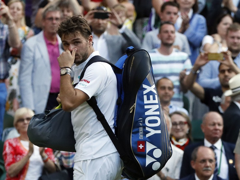 Stan Wawrinka sa lúči s Wimbledonom už po prvom kole