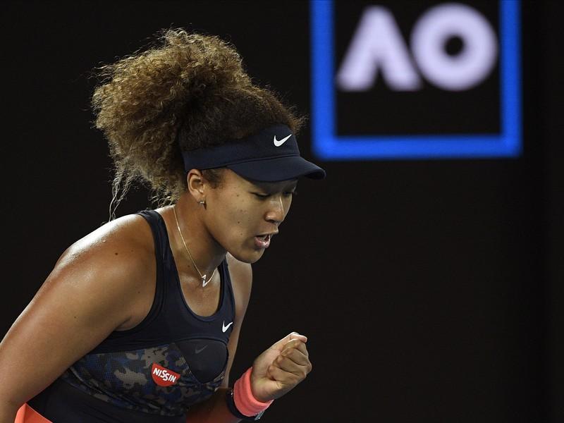 Naomi Osaková počas finále Australian Open