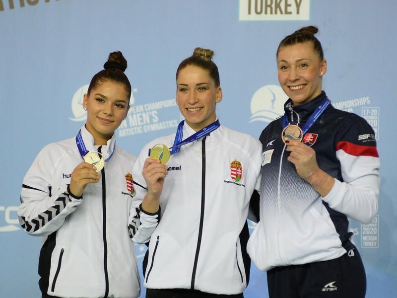 Barbora Mokošová (vpravo)