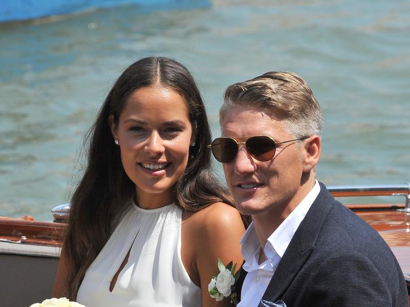 Schweinsteiger a Ivanovičová