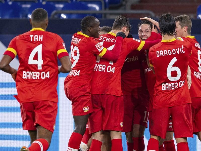 Radosť futbalistov Leverkusenu