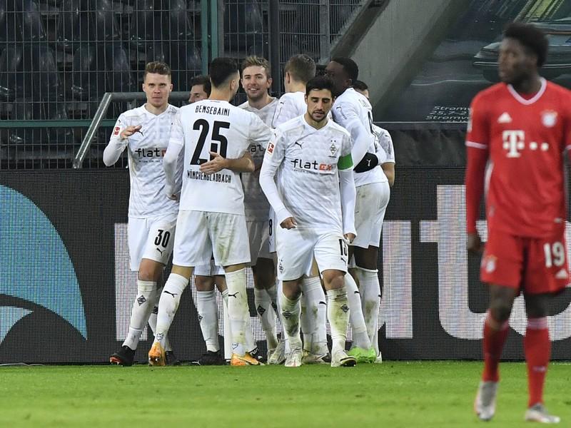 Bayernu neudržal v Mönchengladbachu náskok