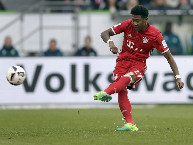 Na snímke hráč Bayernu David Alaba