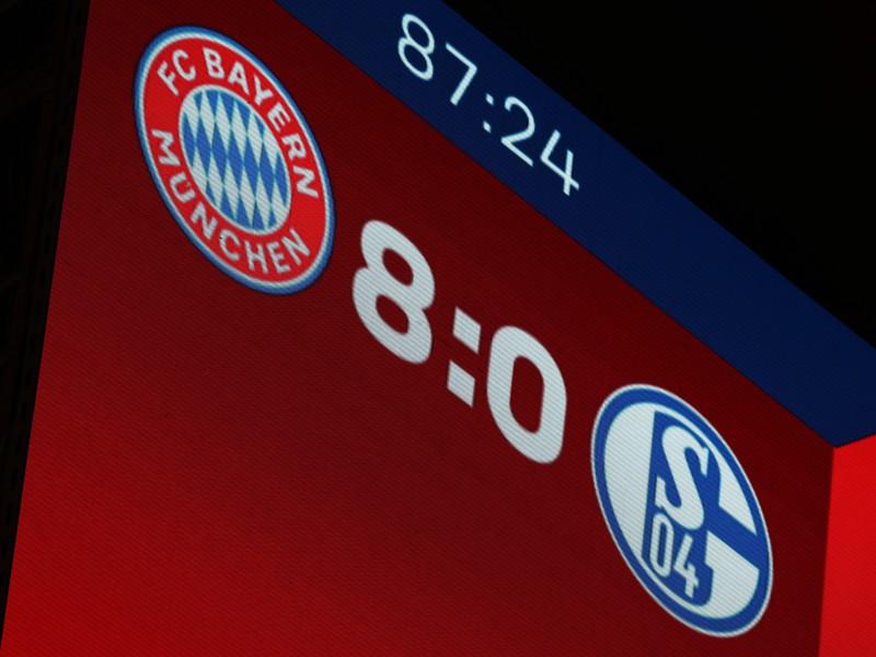 Bayern deklasoval Schalke