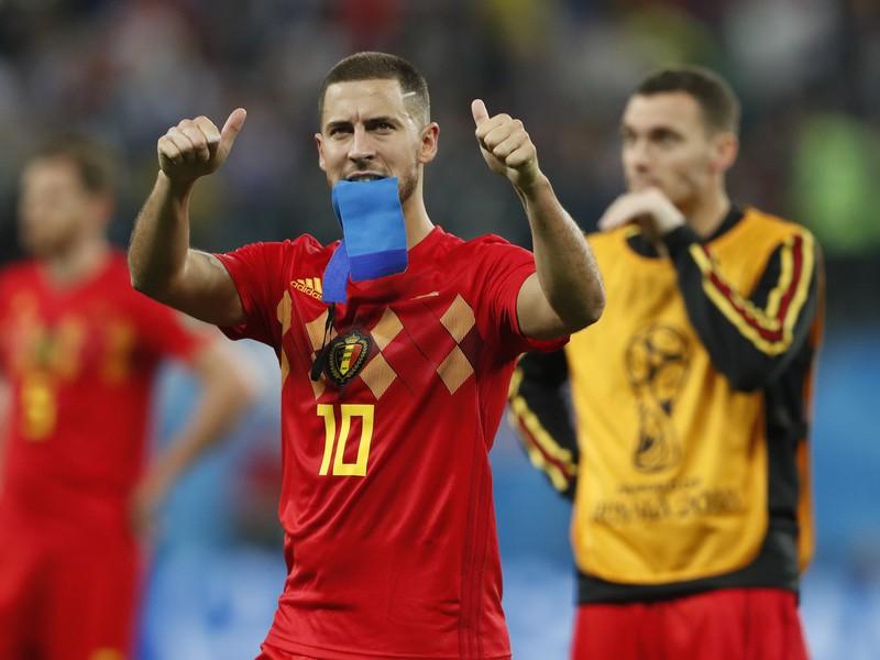 Eden Hazard po prehre v semifinále s Francúzskom