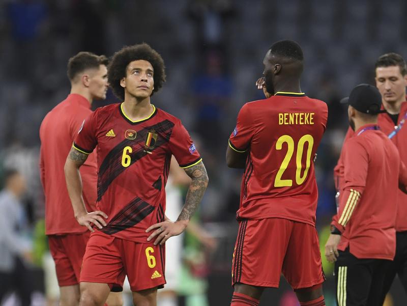 Sklamaní futbalisti Belgicka