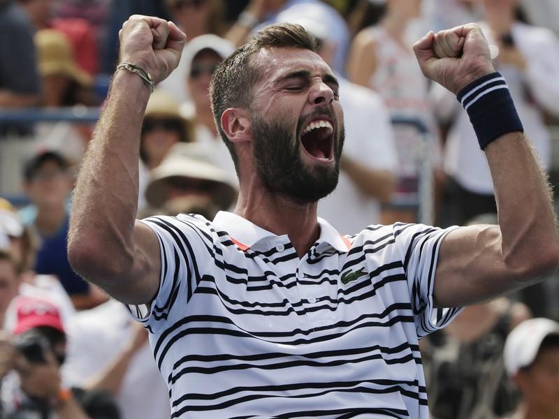 Benoit Paire a jeho víťazná radosť