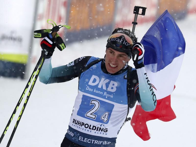 Francúzsky biatlonista Quentin Fillon Maillet