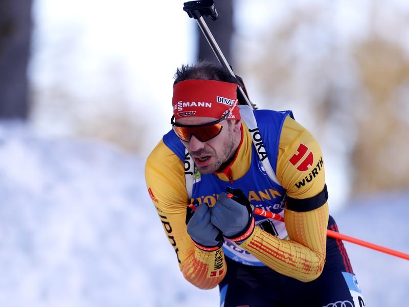 Nemecký biatlonista Arnd Peiffer