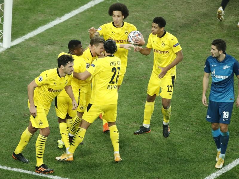 Radosť futbalistov Dortmundu