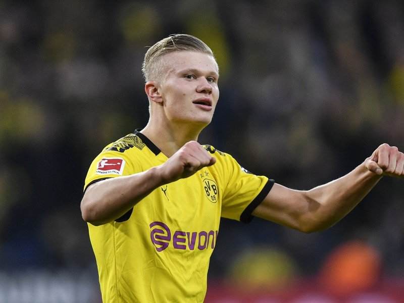 Erling Haaland znovu hrdinom Borussie Dortmund