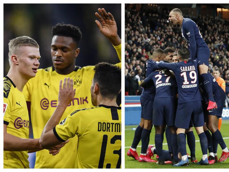 Borussia Dortmund vs. PSG