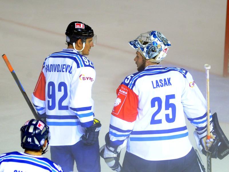 Branko Radivojevič (vľavo) a Ján Lašák (vpravo)