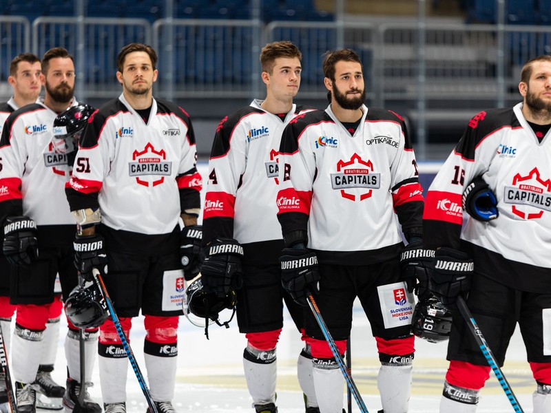 Hokejisti Bratislava Capitals